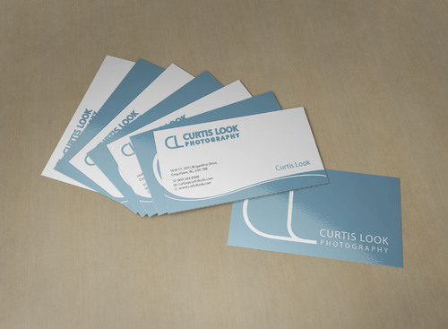 Curtis Look Photography Business Cards and Stationery  Draft # 8 by skyscraper