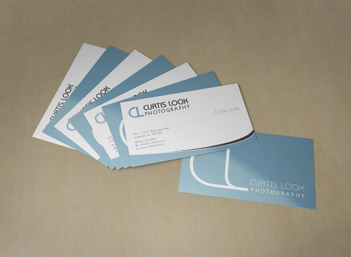 Curtis Look Photography Business Cards and Stationery  Draft # 105 by skyscraper
