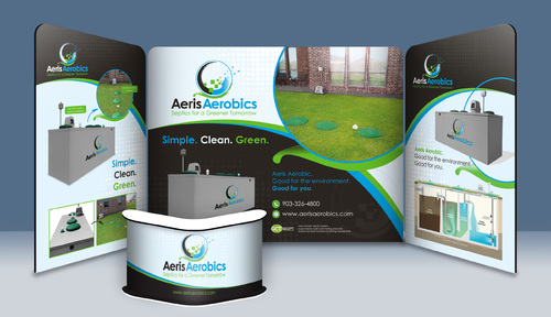 10 x 20 Trade Show Booth Design