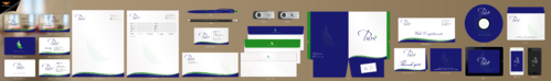 Pure Health Business Cards and Stationery Winning Design by einsanimation