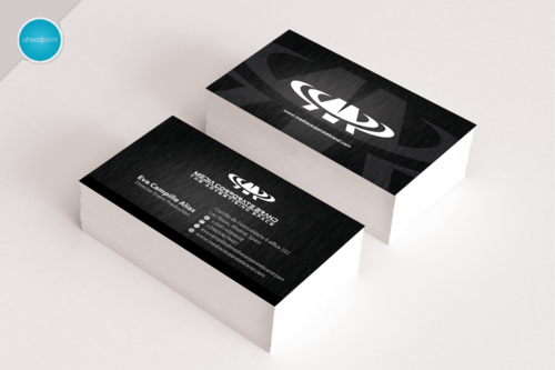 Media Corporated Brand Business Cards and Stationery  Draft # 8 by aheadpoint