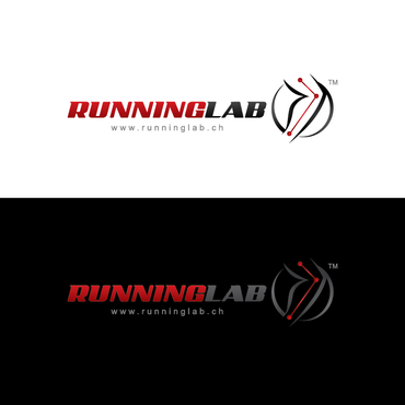 RunningLab Logo Winning Design by Chlong2x