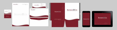 Botros & Co Chartered Accountants Business Cards and Stationery  Draft # 254 by Xpert
