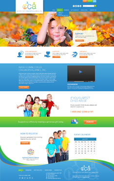 Connecticut Children's Alliance Complete Web Design Solution  Draft # 71 by Achiver