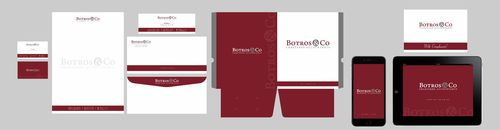 Botros & Co Chartered Accountants Business Cards and Stationery  Draft # 335 by Xpert