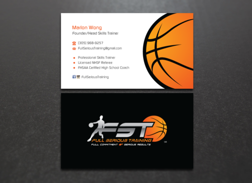 Full Serious Training Business Cards and Stationery Winning Design by einsanimation
