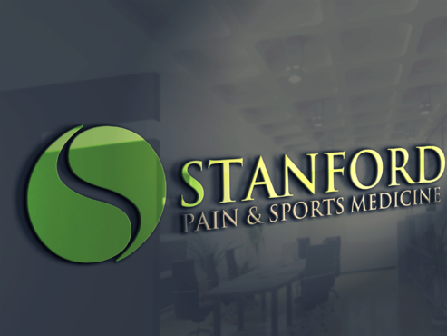 Stanford Pain & Sports Medicine Logo Winning Design by PrintMedia