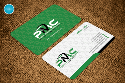 Precision Mechanical Contractors, Inc. Business Cards and Stationery Winning Design by aheadpoint