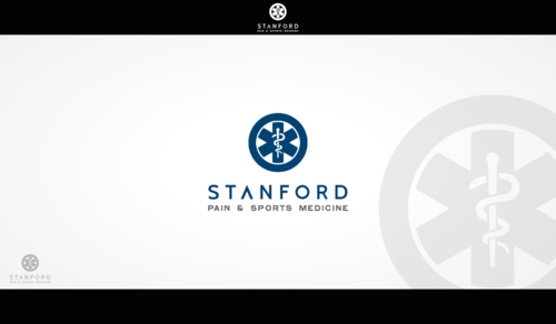 Stanford Pain & Sports Medicine A Logo, Monogram, or Icon  Draft # 509 by Hernan2015