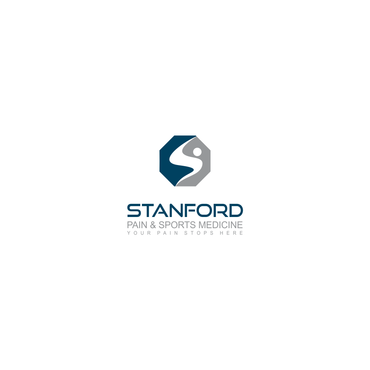 Stanford Pain & Sports Medicine A Logo, Monogram, or Icon  Draft # 597 by ammarsgd
