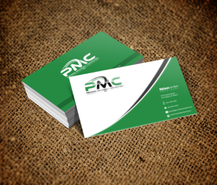 Precision Mechanical Contractors, Inc. Business Cards and Stationery  Draft # 325 by PrintMedia