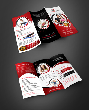looking for very modern and creative brochure Marketing collateral  Draft # 11 by pivotal