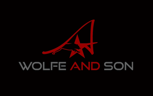 A. Wolfe and Son Logo Winning Design by jackHmill