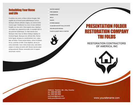 Restoration Contractors of America, Inc Marketing collateral  Draft # 1 by shahirnana