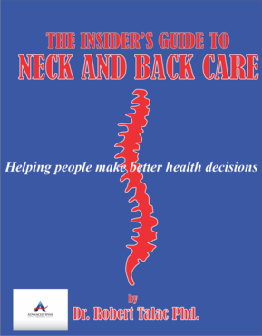 The Insider's Guide to Neck and Back Care Other  Draft # 10 by EITGRAHICS