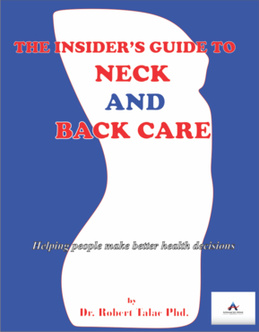 The Insider's Guide to Neck and Back Care Other  Draft # 13 by EITGRAHICS