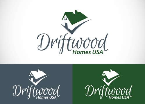 Driftwood Homes USA A Logo, Monogram, or Icon  Draft # 435 by sallu