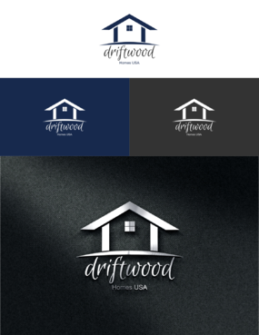 Driftwood Homes USA A Logo, Monogram, or Icon  Draft # 443 by Twins88art
