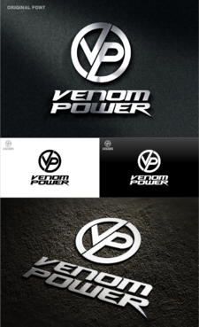 VP -  VENOMPOWER Logo Winning Design by Hernan2015