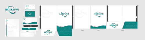 "McGuire Construction ""LOGO"" Business Cards and Stationery Winning Design by Chlong2x"
