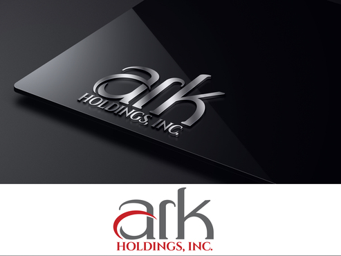 Ark Holdings, Inc. A Logo, Monogram, or Icon  Draft # 575 by LogoXpert