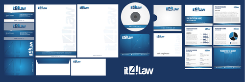 envelopes, business cards, 2xcover sheets,ppt template, letterhead, mousepad, cd covers