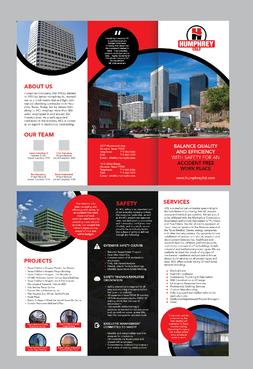 Humphrey Company Marketing collateral Winning Design by Achiver