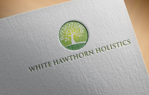 white hawthorn holistic A Logo, Monogram, or Icon  Draft # 271 by Jaaaaay22