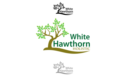 white hawthorn holistic A Logo, Monogram, or Icon  Draft # 341 by pRommeL21