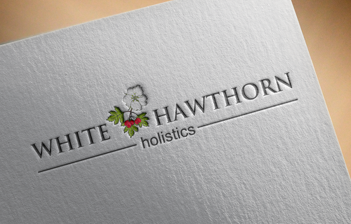 white hawthorn holistic A Logo, Monogram, or Icon  Draft # 500 by Jaaaaay22