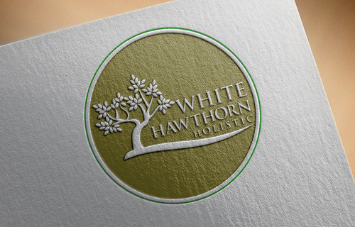 white hawthorn holistic A Logo, Monogram, or Icon  Draft # 581 by pRommeL21