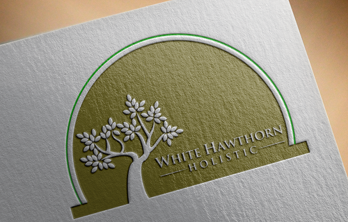 white hawthorn holistic A Logo, Monogram, or Icon  Draft # 582 by pRommeL21