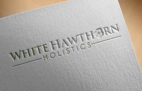 white hawthorn holistic A Logo, Monogram, or Icon  Draft # 612 by Jaaaaay22