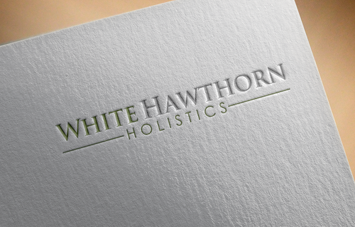 white hawthorn holistic A Logo, Monogram, or Icon  Draft # 613 by Jaaaaay22