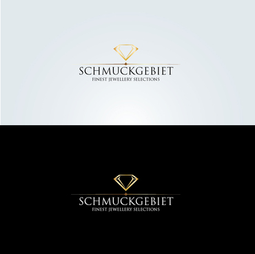 SCHMUCKGEBIET Logo Winning Design by blackmango