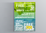 Sleek Promotional Insert for Door Hanger Marketing collateral  Draft # 4 by AdemeroMarketing