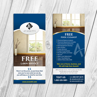 Sleek Promotional Insert for Door Hanger Marketing collateral  Draft # 20 by Kaiza
