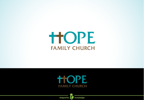 Hope Family Church A Logo, Monogram, or Icon  Draft # 72 by honeybadger
