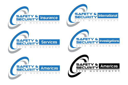 "Two parts to the logo: ""Risk Management"" and ""Safety & Security - Americas"""