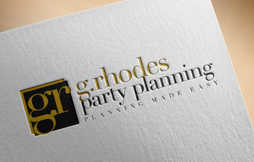 G. Rhodes Party Planning Logo Winning Design by doraemon