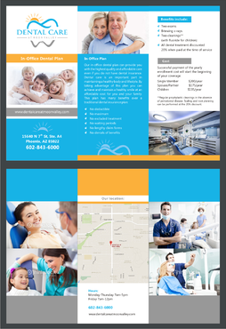 In-Office Dental Plan Marketing collateral  Draft # 1 by irvank