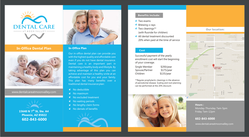 In-Office Dental Plan Marketing collateral  Draft # 2 by irvank