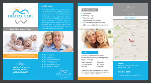 In-Office Dental Plan Marketing collateral  Draft # 3 by irvank