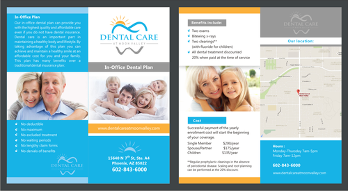In-Office Dental Plan Marketing collateral  Draft # 4 by irvank