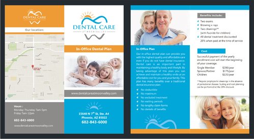In-Office Dental Plan Marketing collateral  Draft # 9 by irvank