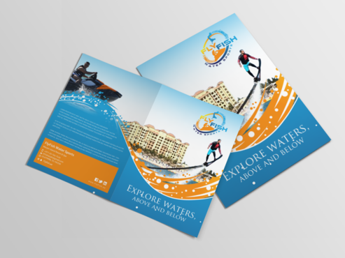 Fly Fish Marketing collateral Winning Design by einsanimation
