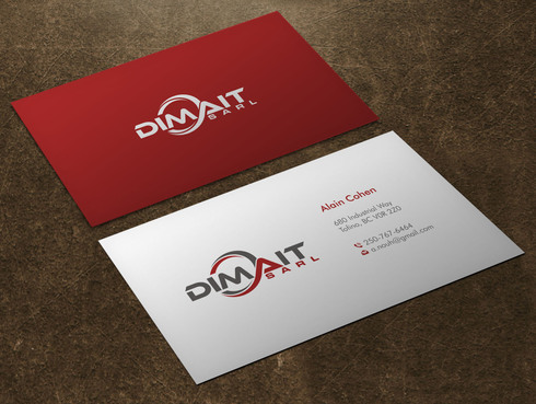 Dimait Business Cards and Stationery  Draft # 1 by Xpert