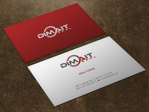 Dimait Business Cards and Stationery  Draft # 2 by Xpert