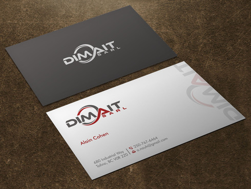 Dimait Business Cards and Stationery  Draft # 3 by Xpert