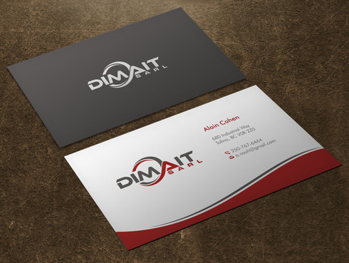 Dimait Business Cards and Stationery  Draft # 4 by Xpert